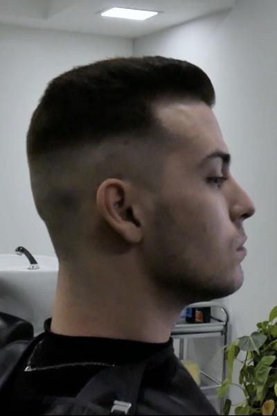 Huber Frank frizura 2020